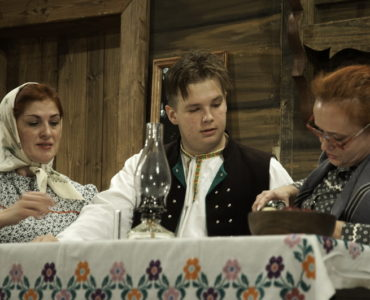 """Divadelné predstavenie """"Mozoľovci"""""""