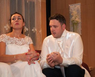 """Divadelné predstavenie """"Dokonalá svadba"""""""